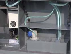 Станок M2 CNC: бак для сбора СОЖ