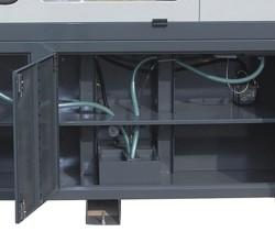Станок M3HS CNC: бак для сбора СОЖ