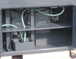 Станок M4 CNC: бак для сбора СОЖ