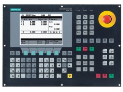 Станок M4 CNC: система управления Siemens 802S base line