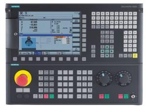 Станок F110 TC-CNC: система управления Siemens 828D
