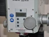 Панель цифровой индикации микрометрической подачи пиноли и маховик станка BF20 Vario