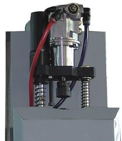 Станок Opti BF46 TC Vario - электропневматический зажим инструмента