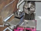 Суппорта и токарный патрон станка D180x300 Vario