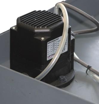Ленточнопильный станок Opti S150G Vario: насос подачи СОЖ