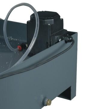 Ленточнопильный станок Opti S300DG: насос подачи СОЖ