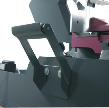 Ленточнопильный станок Opti S300DG: роликовая опора заготовки