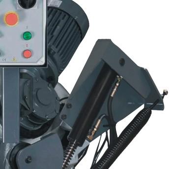 Ленточнопильный станок Opti S350G: редуктор привода