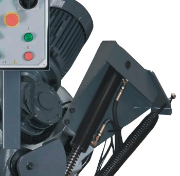 Ленточнопильный станок Opti S350DG: редуктор привода