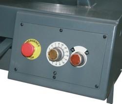 Ленточнопильный станок Opti S350AV: регулировка скорости подачи