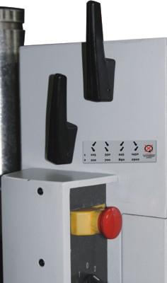 Установка скорости вращения шпинделя двумя рукоятками