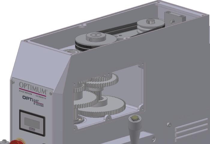 Панель управления станка B30VGM
