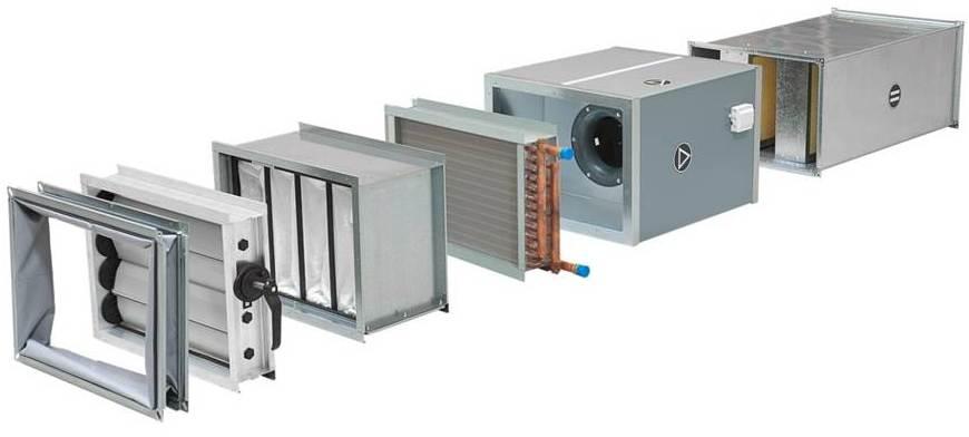 Приточные канальные вентиляционные установки ventus n-type