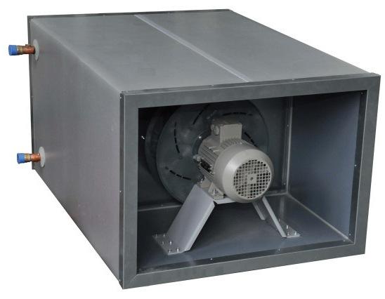 Секция охлаждения с водяным охладителем VTS