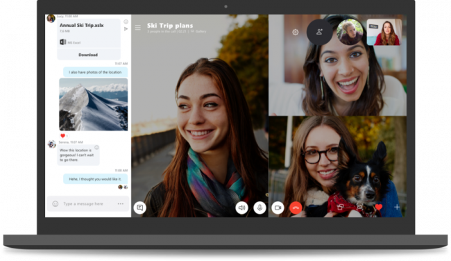 Microsoft продлила срок поддержки классической версии Skype