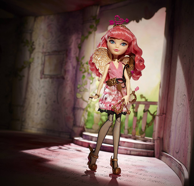 Новая кукла в линейке Ever After High - Купидон С. А.