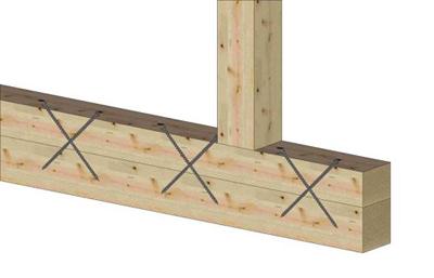 12. Усиление слабых деревянных балок