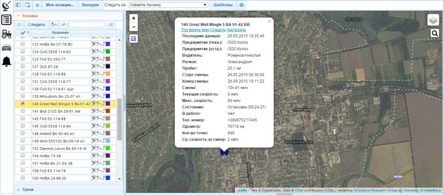 Система спутникового мониторинга «Quant-Systems»