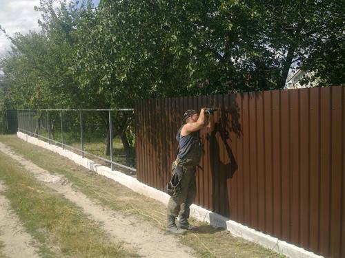 Строительство заборов Киевская область