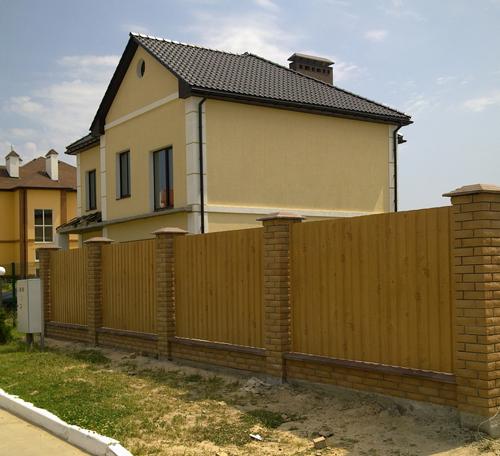 Строительство заборов в Киевской области
