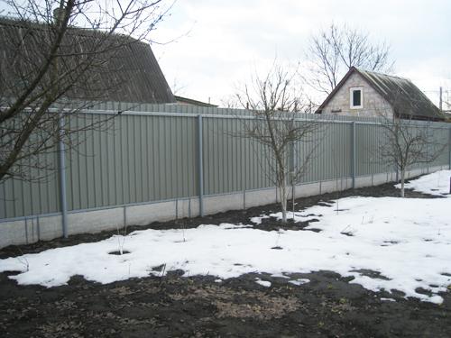 Плоский шифер забор Киевская область Киев
