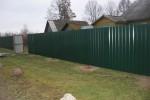 Забор из профнастила в Могилеве