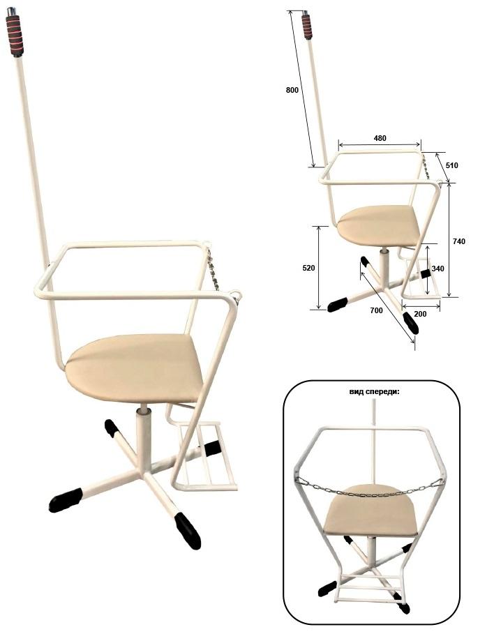 М100 кресло специальное, кресло для тренировки вестибулярного аппарата