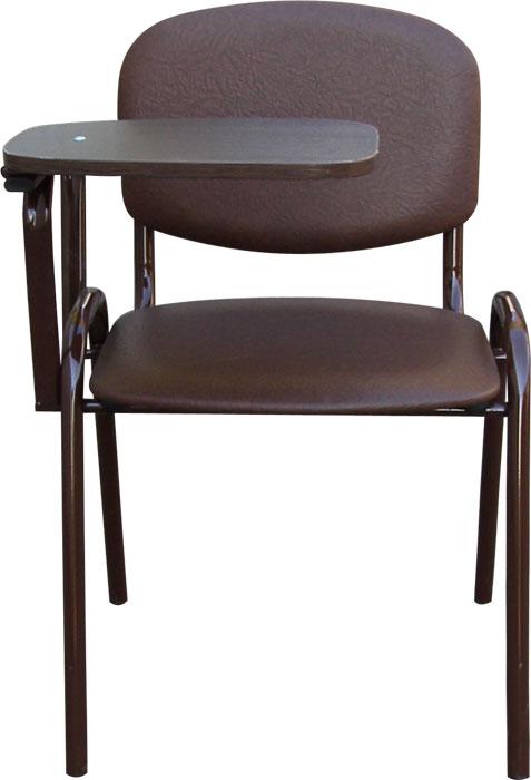 Офисный стул со столиком, стул с откидным столиком, стул ИЗО с пюпитром М36-01