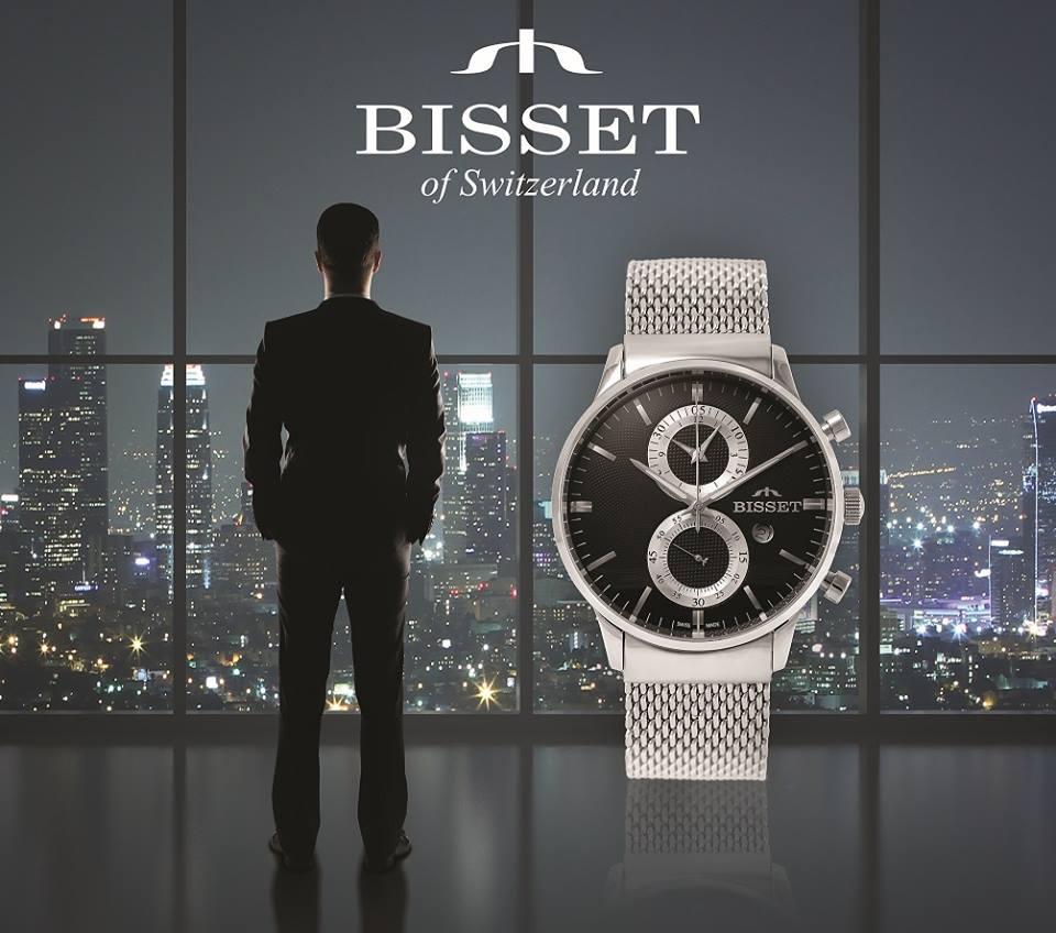 Оригинальные швейцарские часы BISSET