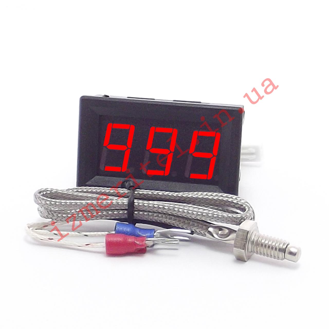 Высокотемпературный цифровой термометр -60...999 °C