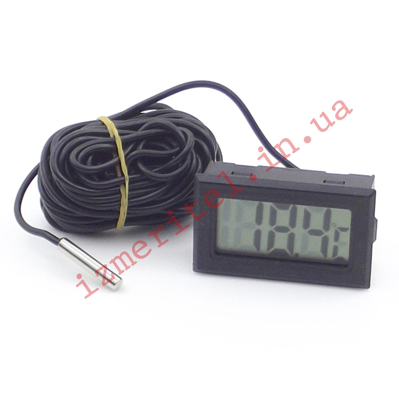 Цифровой термометр с выносным датчиком -50...+110 °С, 5 метров