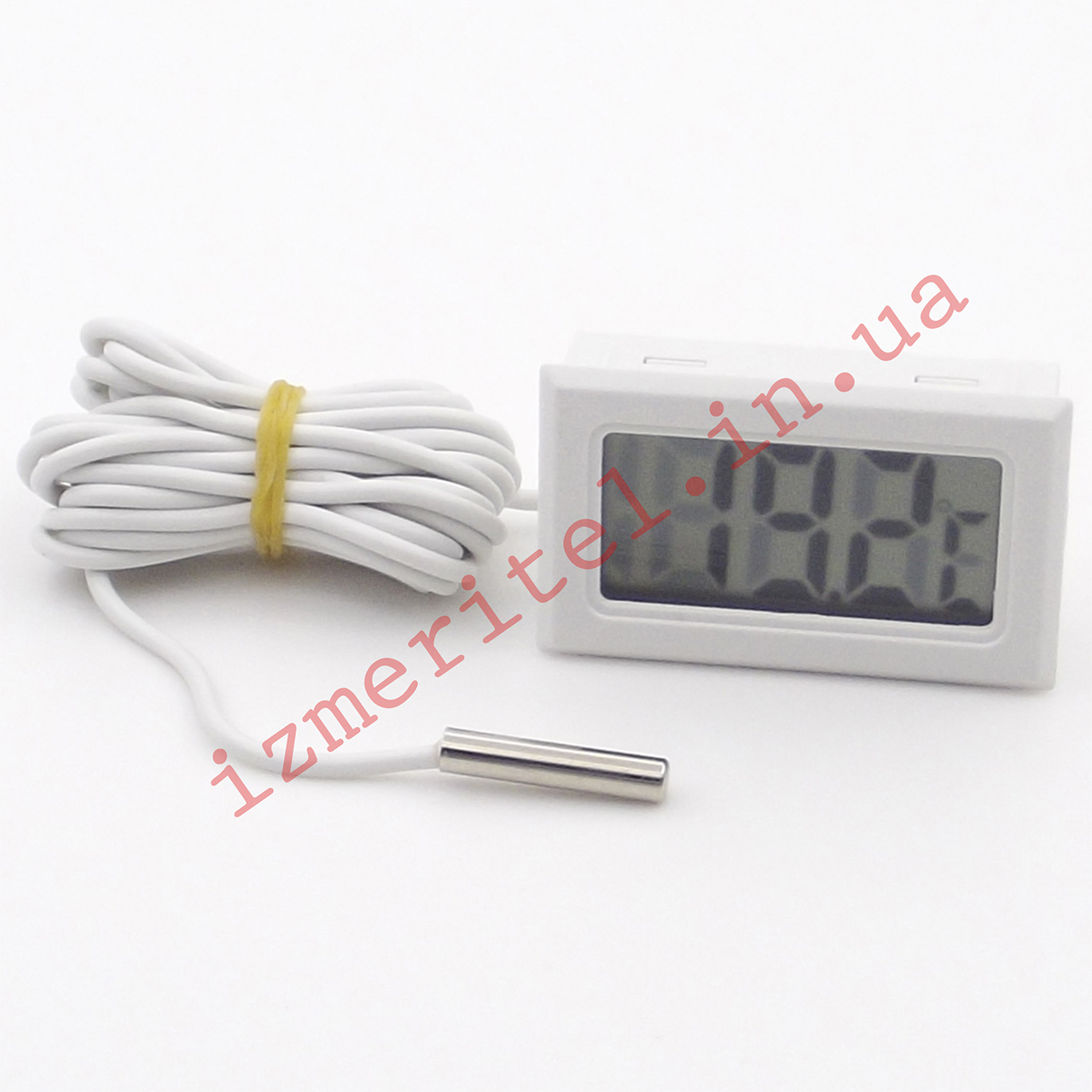 Цифровой термометр с выносным датчиком -50...+110 °С, 2 метра