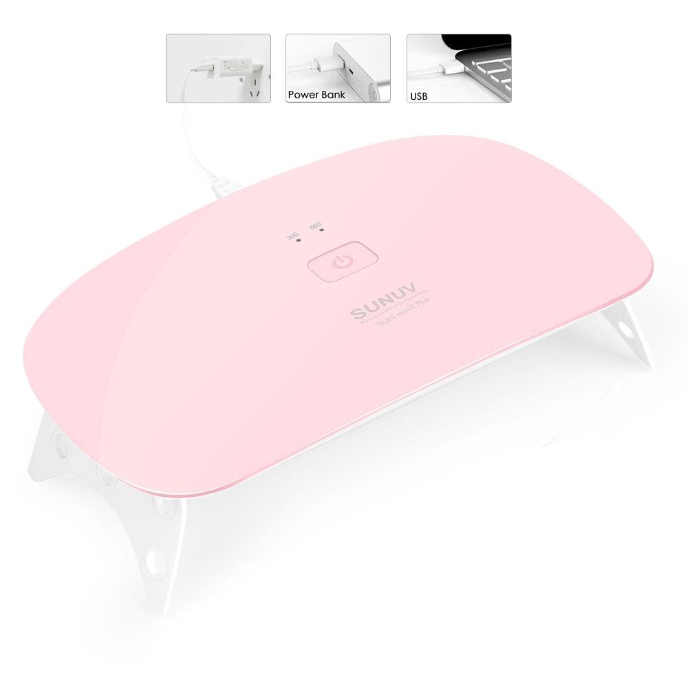 SUNUV-Nail-Dryer-SUNmini2-Plus-UV-LED-Lamp15Leds-Curing-Thumb-Nail-Manicure-Pedicure-Faster-USB-Charge (1)