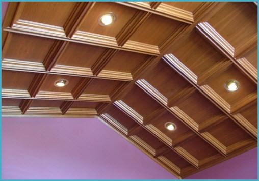 виды подвесных потолков