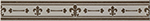 Imola Anthea +14613 Бордюр керамич. L. GIGLIO A, 4x30