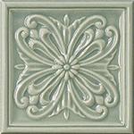 Vallelunga Rialto +24903 Декор керамич. RIALTO VIN/B FORM/FL 15X15, 15x15