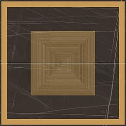 La Faenza Trex3 +26523 Панно керамич. ROS.TREX120N LP, 120x120