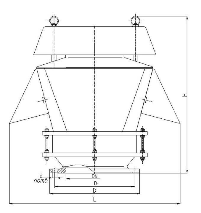 Схема клапана КДМ-200