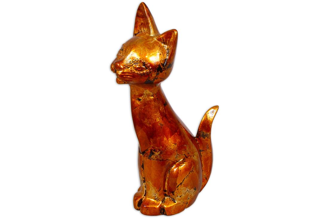 Декоративна керамічна статуетка Кішка 38см BonaDi 250108