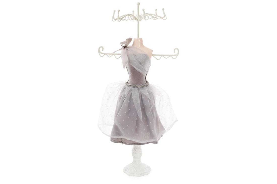 Подставка для украшений Платье 405см цвет серый BonaDi 489328
