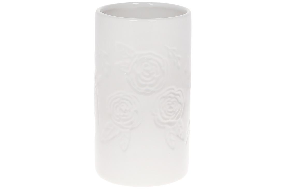 Ваза керамічна 19см колір білий BonaDi 733 412