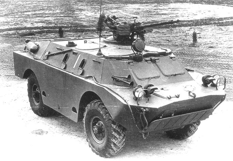 Бронированная разведывательно-дозорная машина ГАЗ-41 (БРДМ-2).