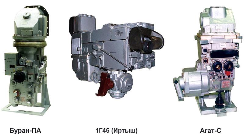 Рисунок 24. Комплект прицелов СУО танка 1А45