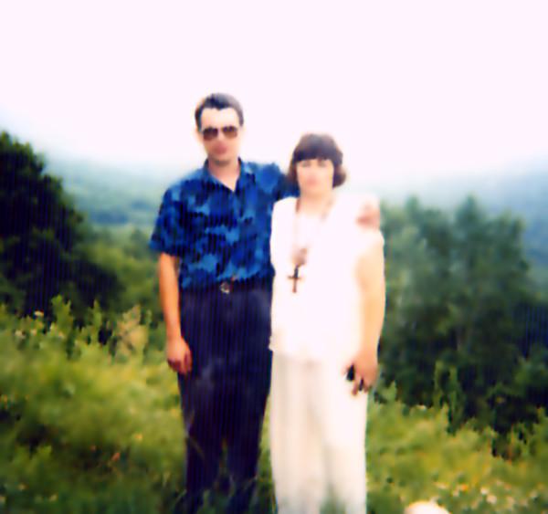 Я и мой муж в 1995 году
