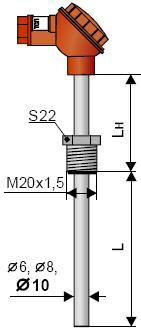 Термопара G002 ТСМ-002