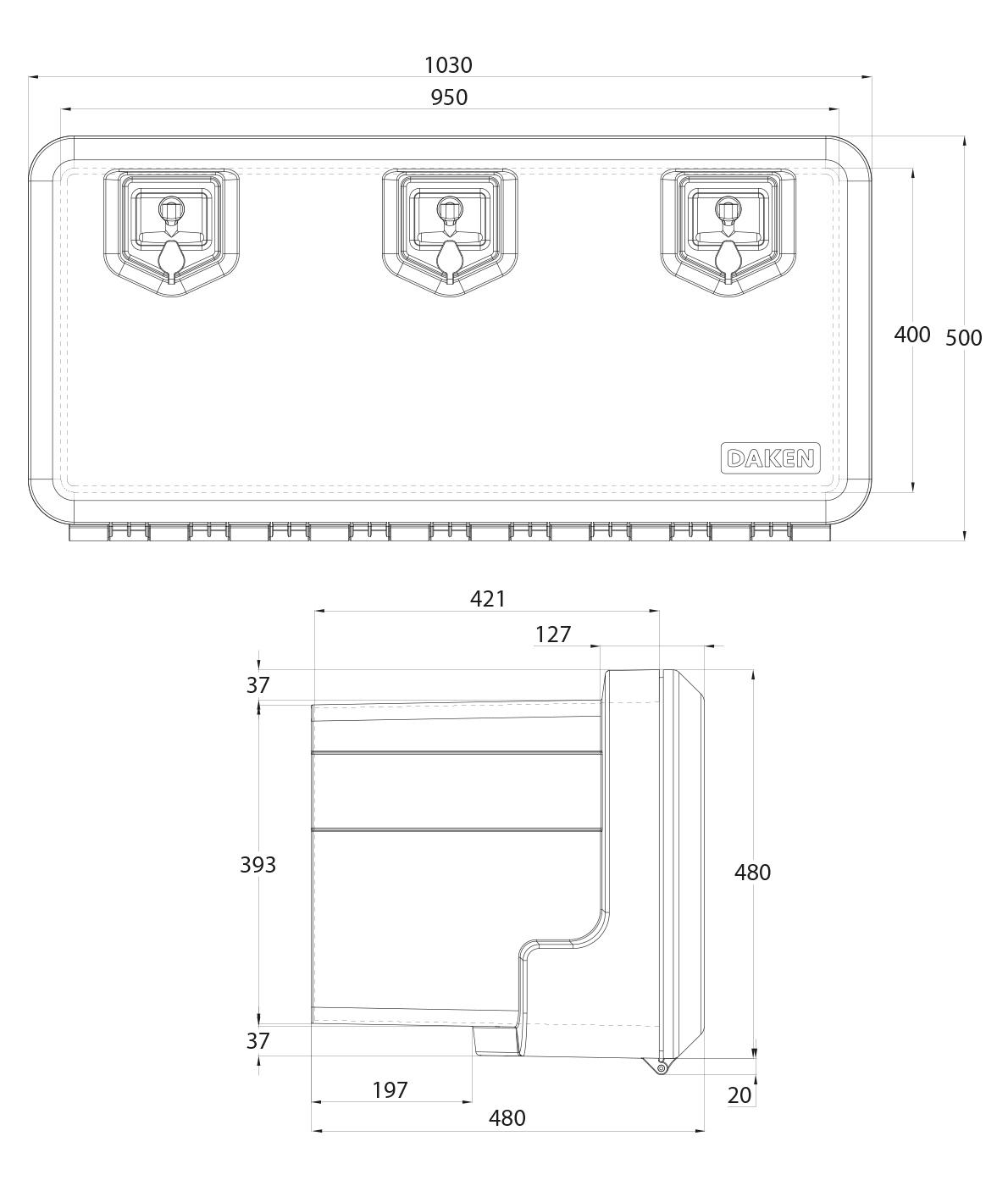 Daken Toolbox - 81008