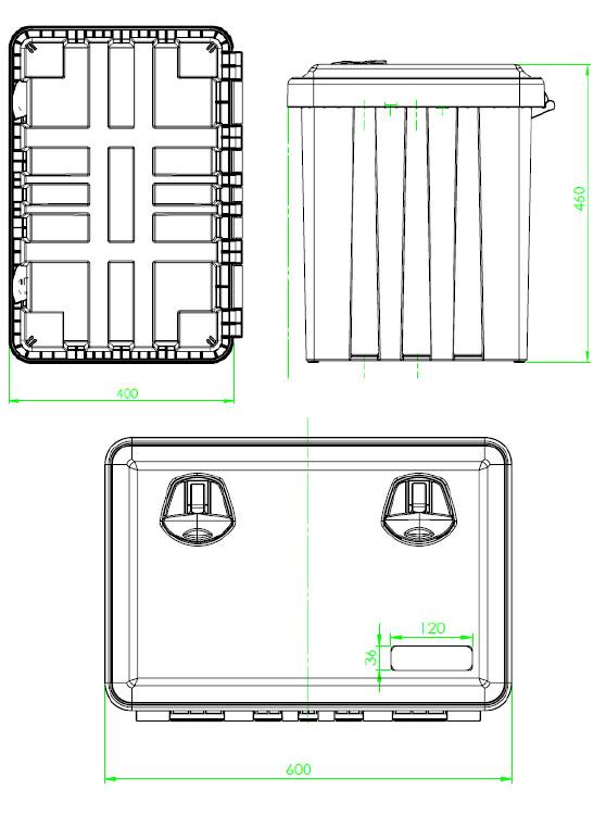 Daken Toolbox - 81000