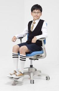 Кресло Duoflex Kids Sponge ― голубое