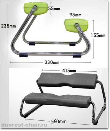 Подножка EZ foot ― Размеры