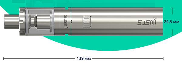 Размеры Eleaf iJust S